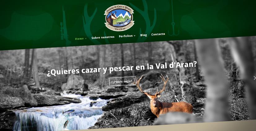 Nuevo sitio web de la Societat de Caça e Pesca dera Val d'Aran