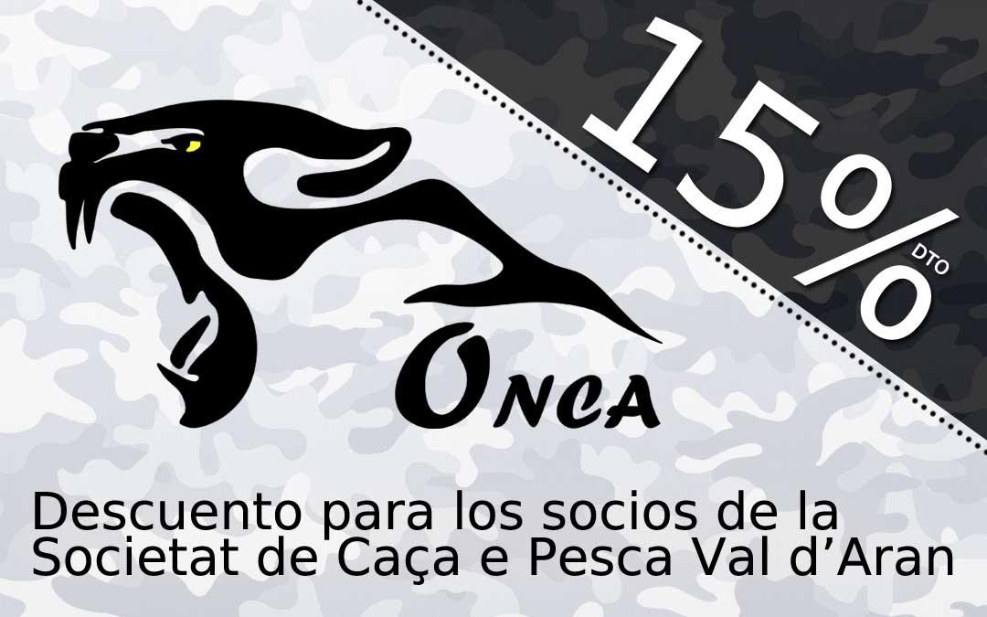 La Societat de Caça e Pesca dera Val d'Aran llega a un acuerdo con Onca, para que los socios tengan un 15% de descuento