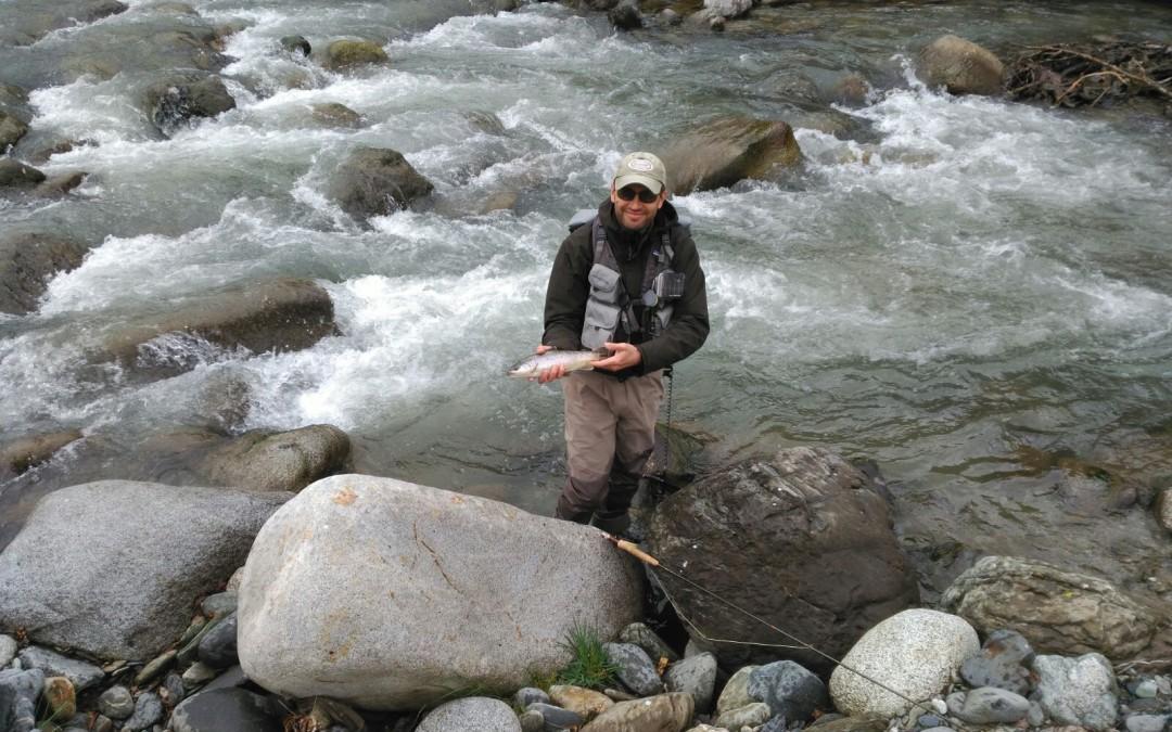 Primeras capturas sin muerte, de la temporada de pesca en la Val d'Aran