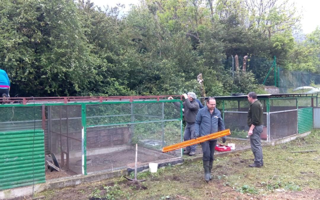 Se inician los trabajos de acondicionamiento del terreno de Vilac