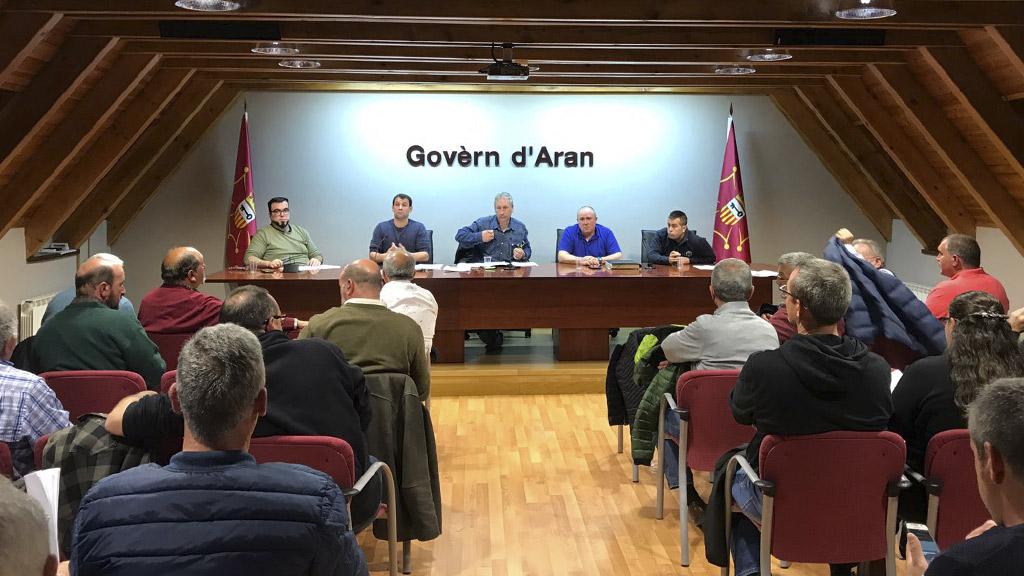 La Societat de Caça e Pesca Val d'Aran, celebra su asamblea anual