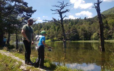 Gran éxito en el Concurso de pesca infantil 2017
