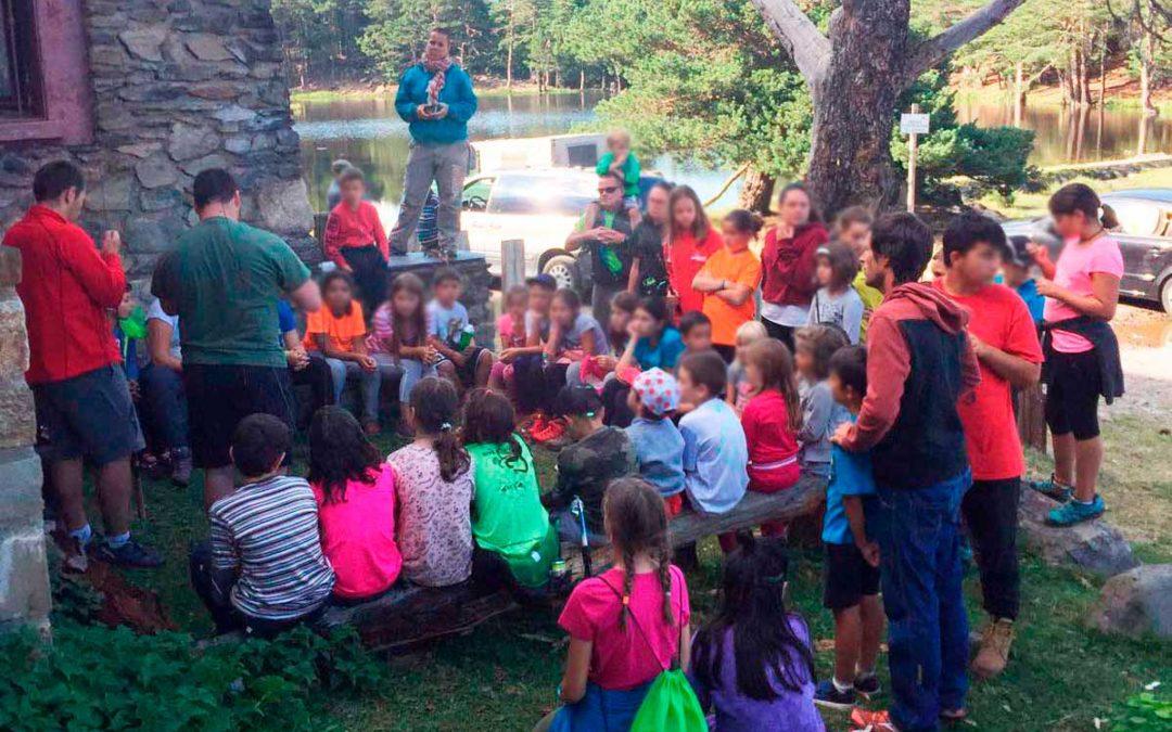 La Societat de Caça e Pesca Val d'Aran colabora en la divulgación de la pesca infantil