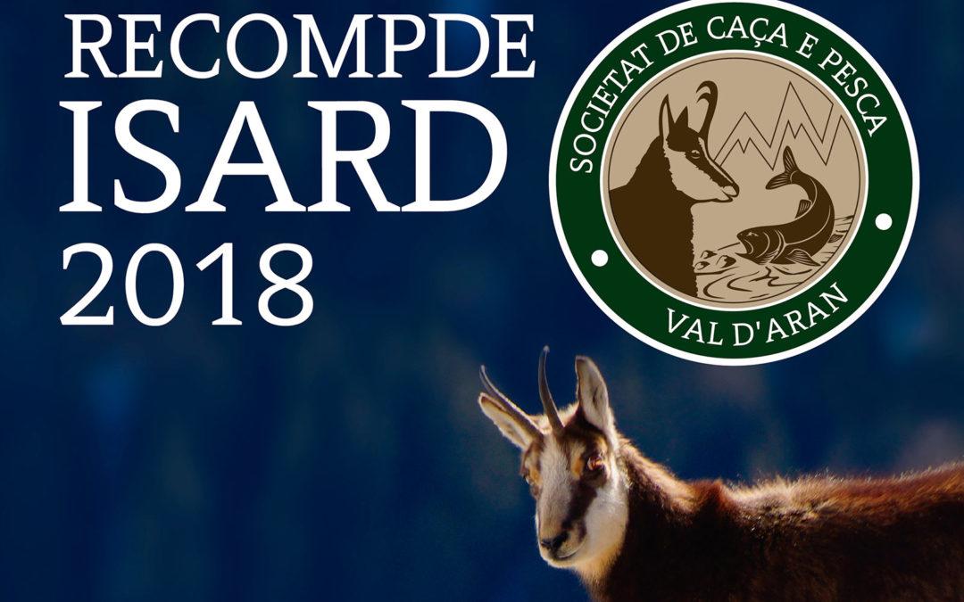 Recuento de Isard 2018