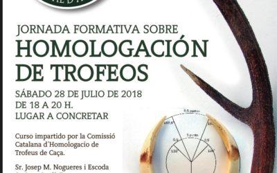 Jornada Formativa sobre la Homologación de Trofeos de Caza