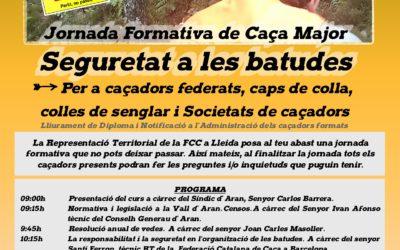 JORNADA FORMATIVA DE CAZA MAYOR – SEGURIDAD EN LAS BATIDAS