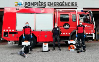 La Societat de Caça e Pesca Val d'Aran, dona equipos para desinfección