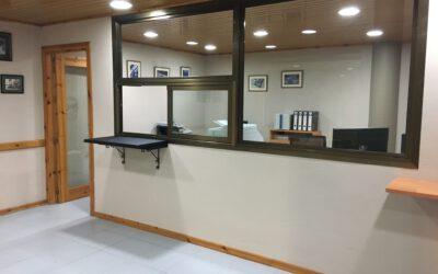 Abrimos nuevamente la oficina del Palai